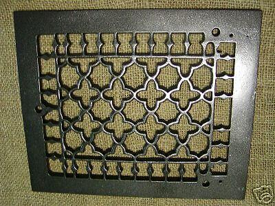 Vintage 1800s Cast Iron Register Grate Antique Grates * 2