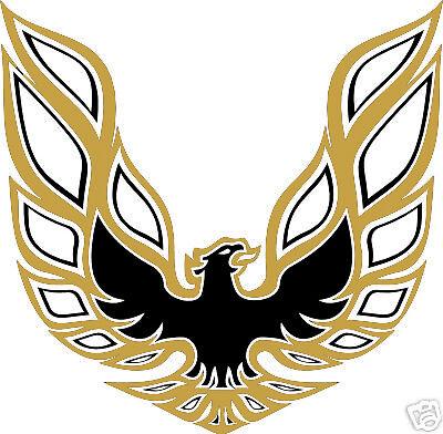Firebird Trans Am Bird Hood Decal Decal 2 Color