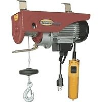 NEW 1300 LB ELECTRIC HOIST & REMOTE - UL LISTED WINCH